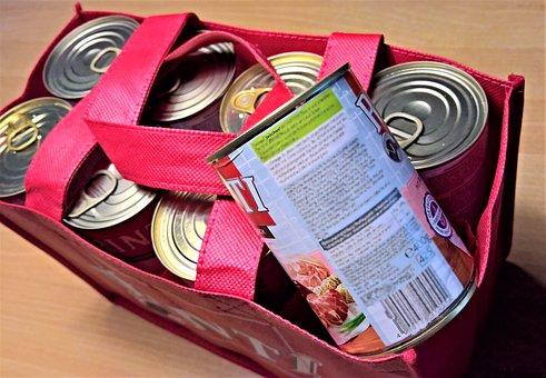 boîtes de conserve, nourriture pour chiens, viande