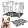 Generic * Etal Cage pour animal domestique en Mesure M Chien Chiot pliable en métal pliable en métal pour animal...
