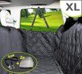 Meadowlark® Housse de siège pour Chien Voiture XL Universelle Imperméable! Protection complète Banquette arrière vehicule + portières + 2 appuis-tête....
