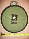 Officiel US Army Frisbee-green pliante pour chien ou marron (couleur varie par Commande)