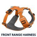 Ruffwear Harnais de tous les jours pour chien, Pour l'aventure, Chiens de taille moyenne, Ajustement sur mesure, Taille M, Orange...